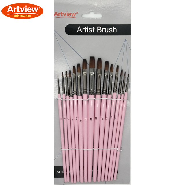 Variegated Synthetic Brush