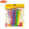Kids Brushes Set With Plastic Colorful Handle