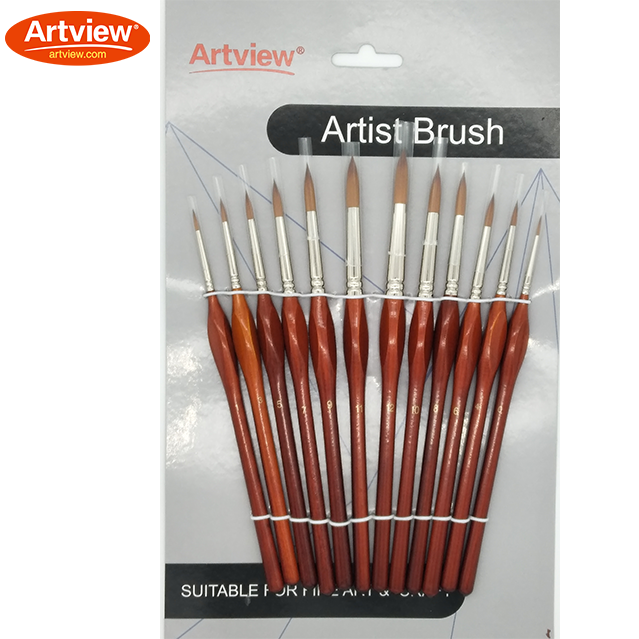 Double-Colored Synthetic Brush